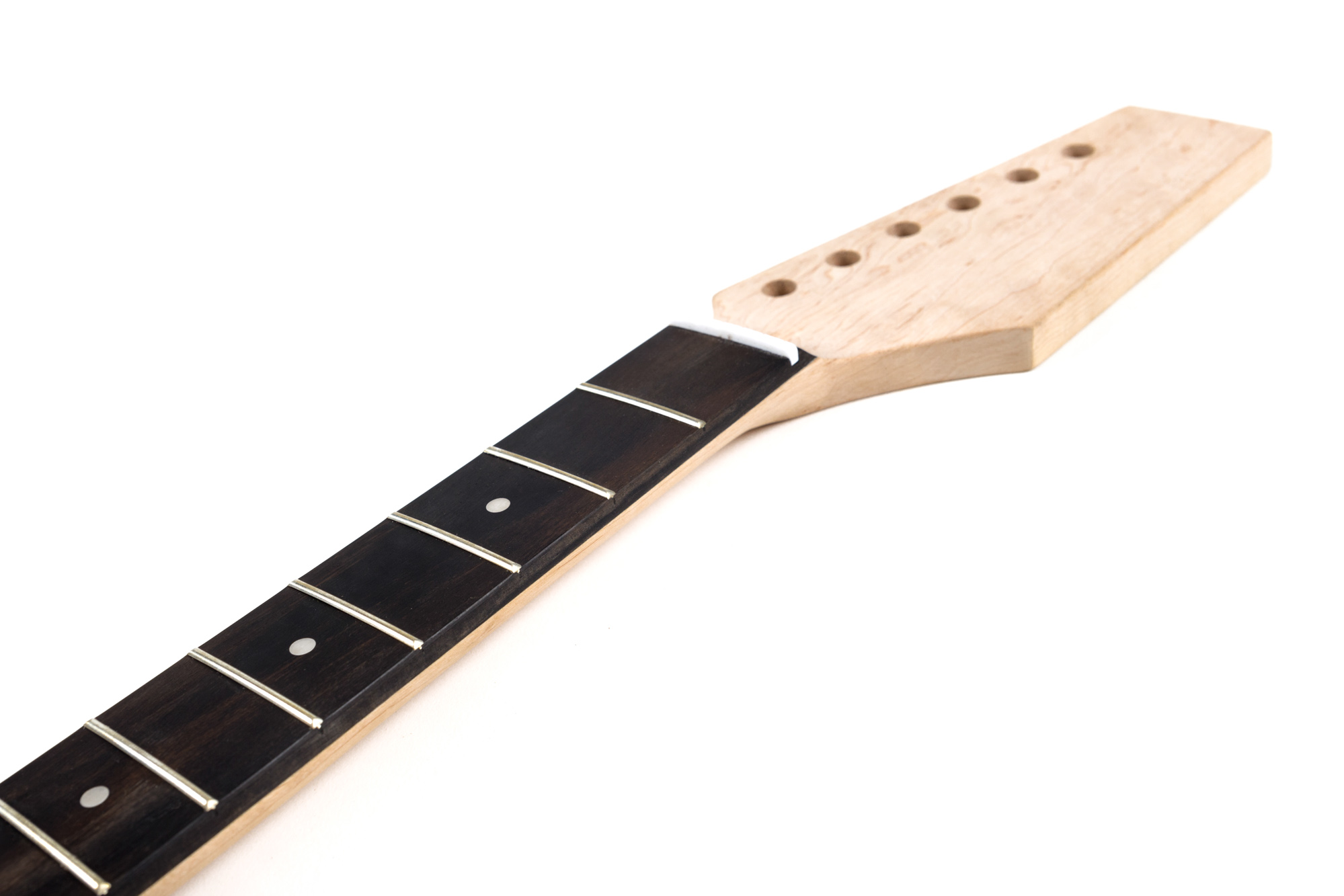 Ebony strat neck