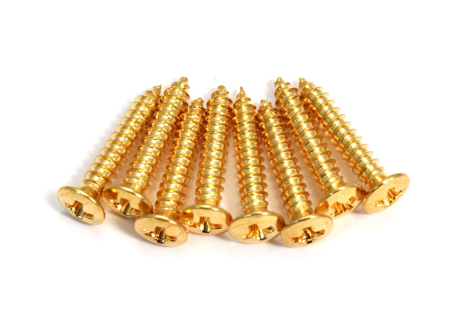 GOLD SCREWS FOR MOUNTING RINGS