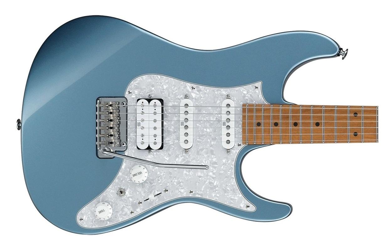 Trans blue metallic