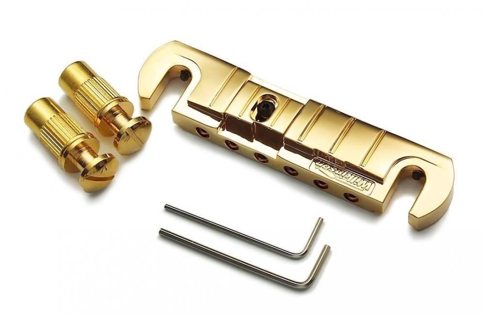 Gold Wilkinson Gtb Wraparound Tune O Matic Bridge Clandestine Guitars Tienda Online De Repuestos De Guitarra