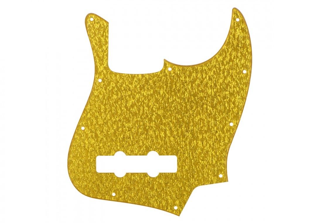 GOLD SPARKLE JAZZ BASS PICKGUARD