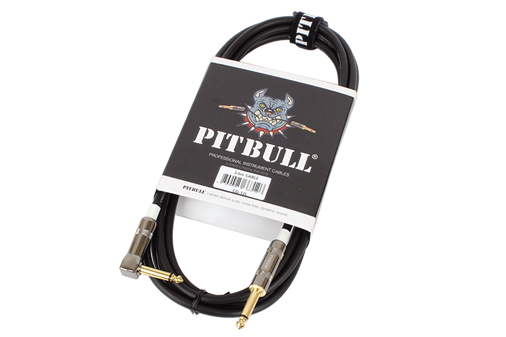 PITBULL CG-12L PVC DOUBLE MONO JACK 6.35MM CABLE 3,6 METERS