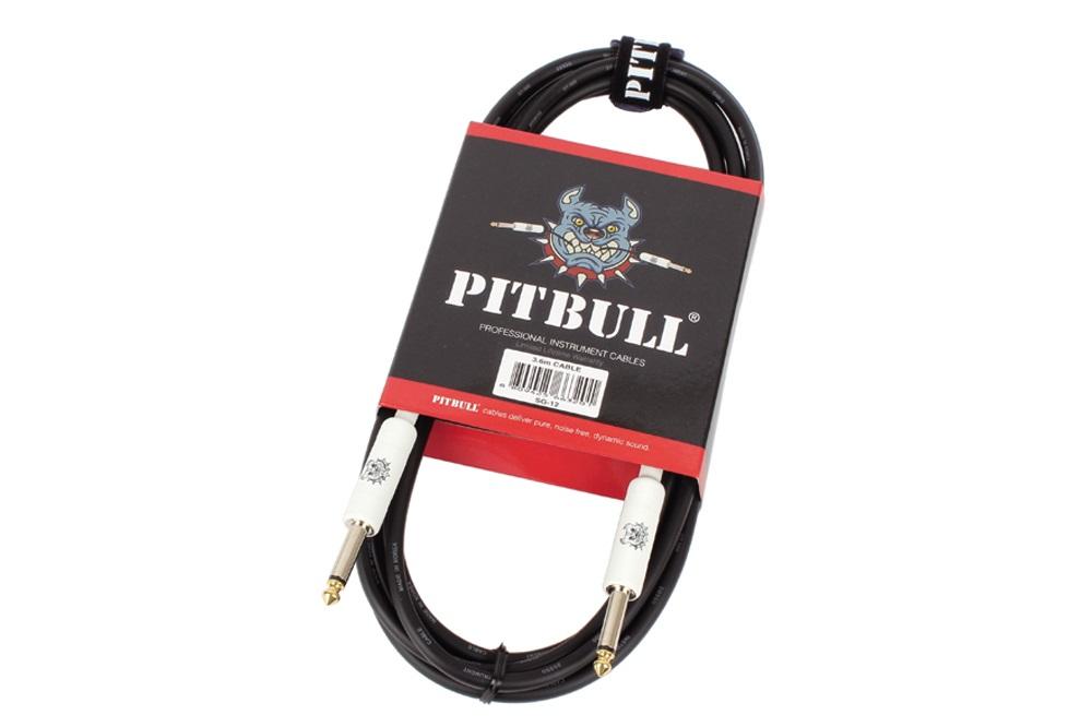 CABLE PITBULL SG-12 DOBLE MONO JACK 6,35mm PVC 3,6 METROS